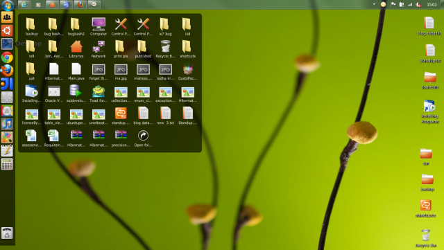 window7 theme form ubuntu