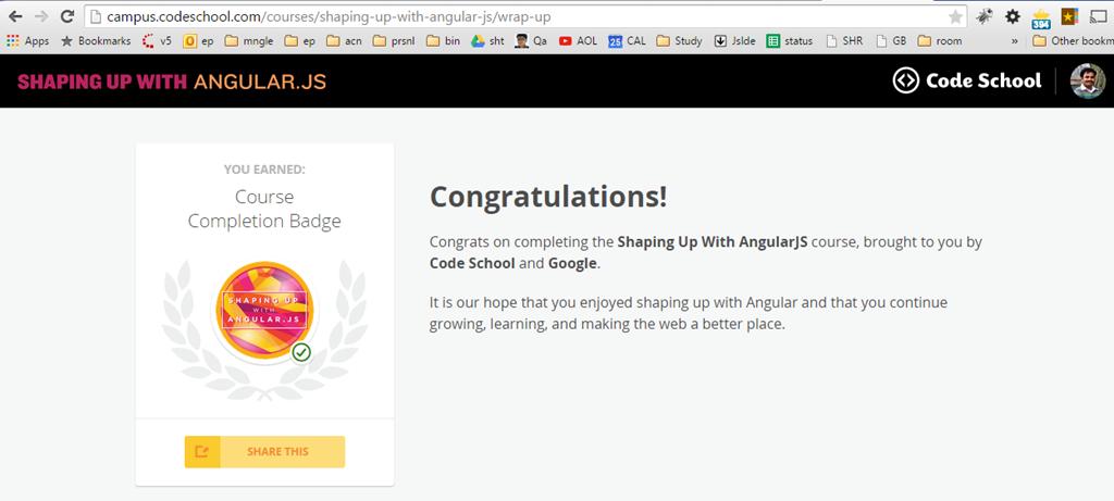 AngularJs Certificate from google code school | PremAseem.me