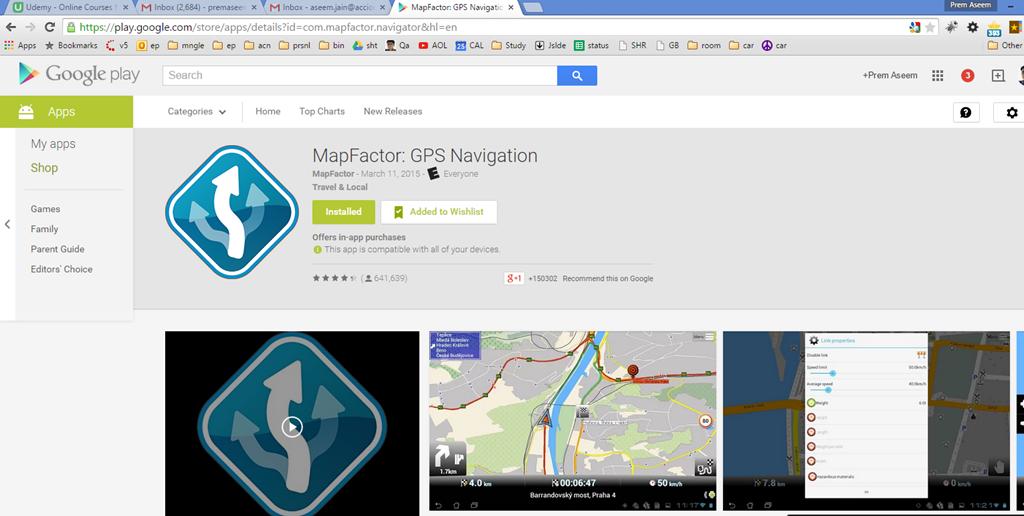 Free GPS Navigation App For Mobile Offline Google Maps PremAseemme - Is google maps app free