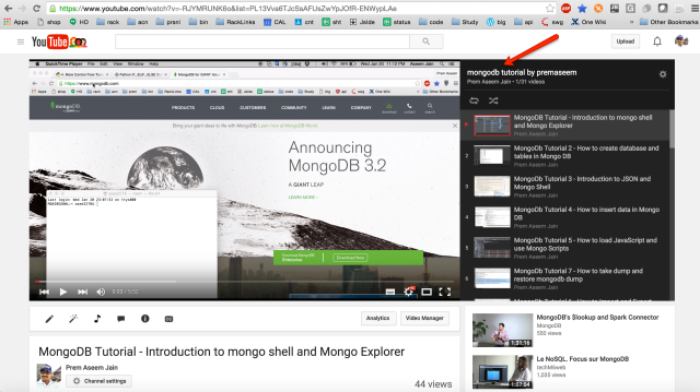 mongoDB tutorial on youtube.png