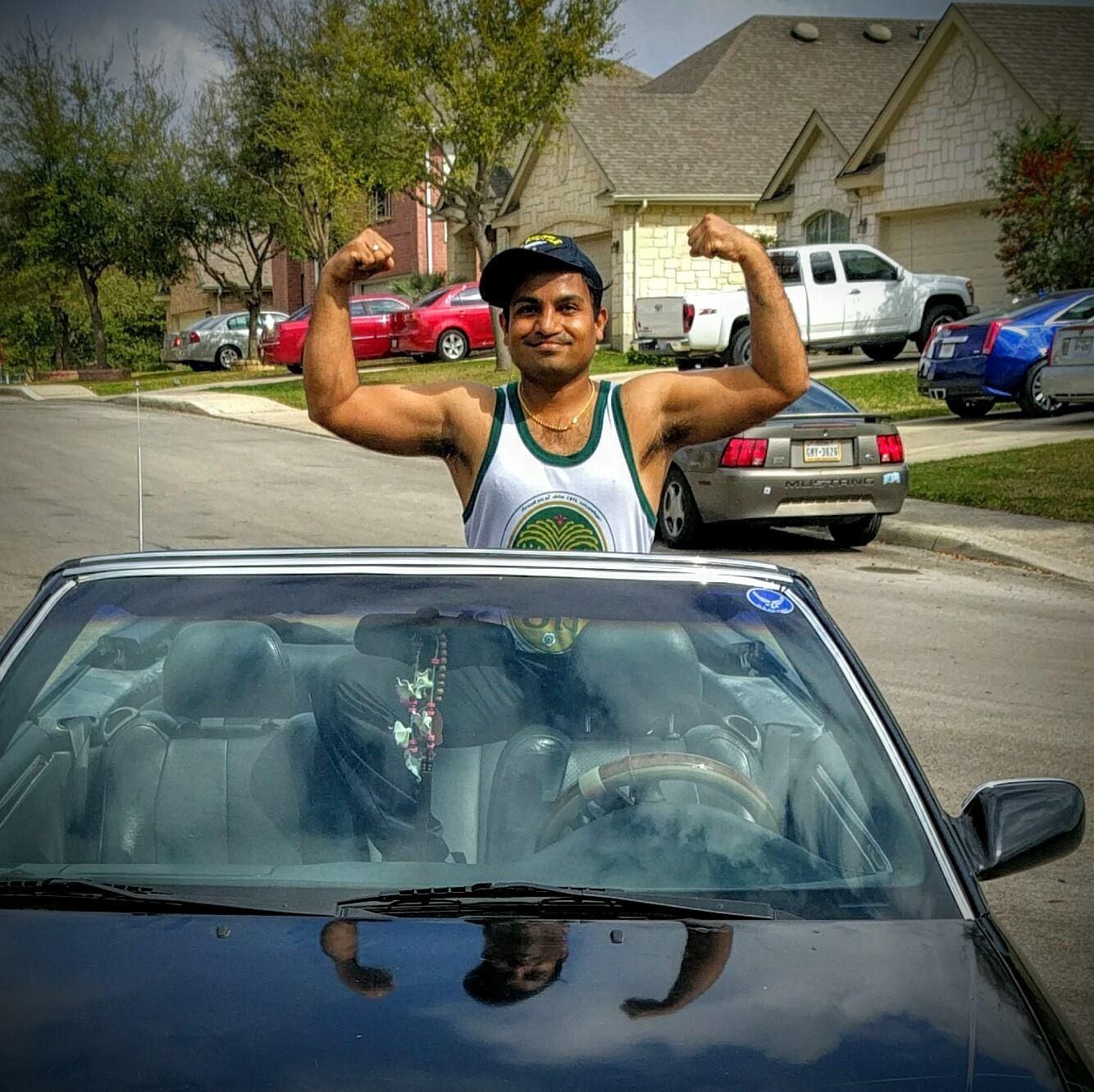 premaseem convertible car