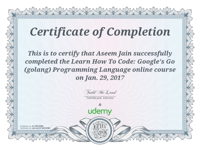 golang-certificate